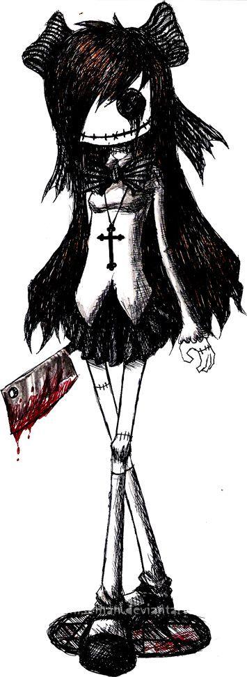 Resultado de imagen para dibujos dark gothic a lapiz
