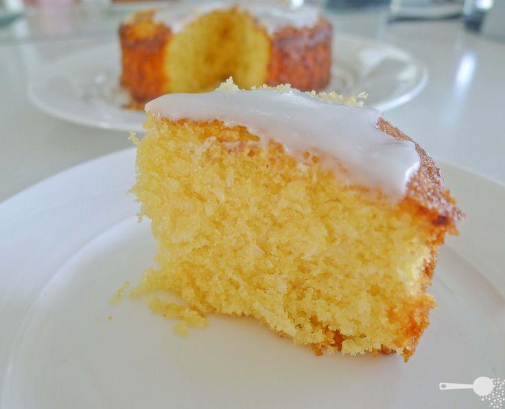 Lemon polenta cake(glutenfree)