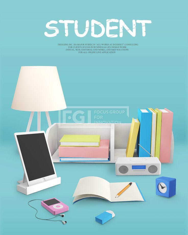 FUS062, 프리진, 그래픽, 교육, 오브젝트, 그래픽, MP3, 아이콘, 수첩, 입체효과, 아이패드, 에프지아이, fus062, 3d데스크오브젝트, fus062_009, 3d데스크오브젝트009, 3D, 책상, 소품, 타이포그래피, 타이포, 책꽂이, 시계, 라디오, 태블릿, 타블렛, 지우개, 공책, 연필, 스탠드, 파스텔,#유토이미지