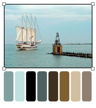 The Beyondness of Things: Color Inspiration - Neutral, Masculine Palette