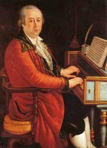 Domenico Cimarosa (17 December 1749, Aversa, Province of Caserta – 11 January 1801, Venice) was an Italian opera composer of the Neapolitan school. He wrote more than eighty operas during his lifetime, including his masterpiece, Il matrimonio segreto (1792).