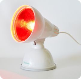 Luz infrarroja para dolores musculares