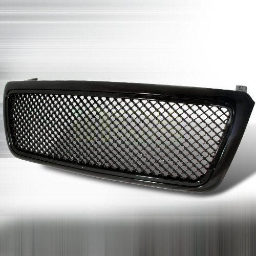 Spec-D Tuning HG-F15004JM Ford F150 F-150 Fx4 Lariat Stx Svt Lighting+Black Mesh Grille. For product info go to:  https://www.caraccessoriesonlinemarket.com/spec-d-tuning-hg-f15004jm-ford-f150-f-150-fx4-lariat-stx-svt-lightingblack-mesh-grille/