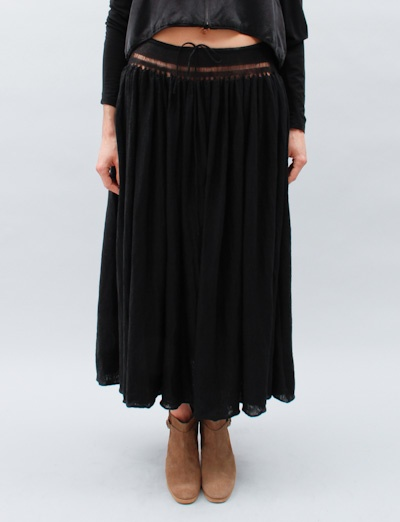 Knit Long Skirt: Knits Long, Long Skirts, United Bamboo, Bamboo Knits