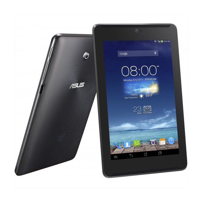 """Asus Fonepad 7"""" FE170 by Asus. Cool tablet with dual cameras, letting you capture every moments, compact and stylish design that can fits in hand, with a full 3G phone functionality to stay connected everywhere. This tablet has anti fingerprint coating. http://www.zocko.com/z/JIOl6"""