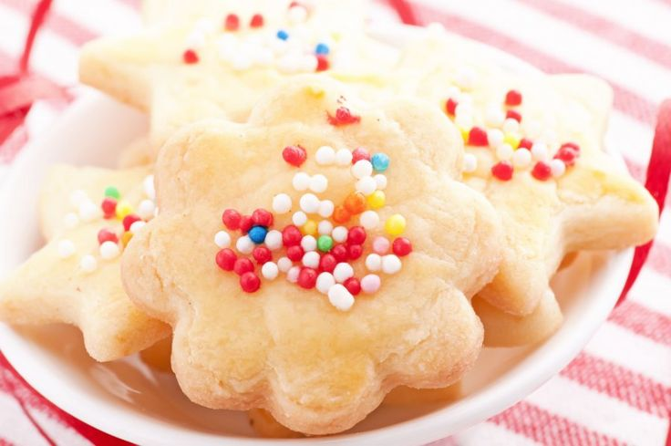 Die Butterkekse nach diesem Rezept sind ganz einfach zuzubereiten. Hier können auch die Kleinen schon prima mithelfen!