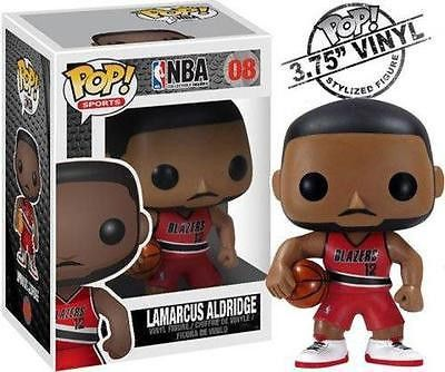NBA All-Star and 2nd overall pick in the 2006 NBA Draft, Portland Trailblazer power forward LaMarcus Aldridge makes his Pop. Vinyl debut with this awesome looking NBA Series 1 LaMarcus Aldridge Pop. Vinyl Figure. #funko #popvinyl #actionfigure #collectible #LaMarcusAldridge
