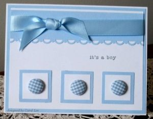 Baby card by Jessica Chavez