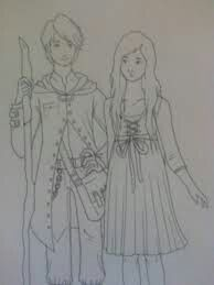 Tom and Alice from the Wardstone Chronicles. I love this one!