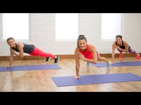 40 MIN FULL BODY: Burn 400 Calories in This 40-Minute Workout | Class FitSugar - YouTube