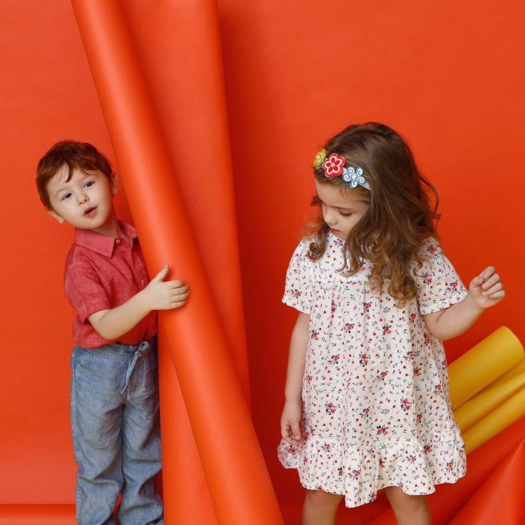 When we are together, it's all so funny!  #120lino #120percento #kidswear #kids #girl #boy #linen #shirt #dress #style #store #trend #floral #flowers #colors #funny #set #shooting #milano #milan #playing #summer #outfit #outfitinspiration