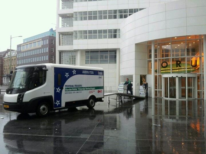 Geheel elektrisch verhuizen met de nieuwe Modec verhuiswagen