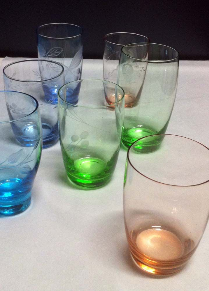 Colourful glasses