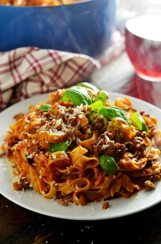 ... Pot Pasta Bolognese | Recipe | Sauces, Tagliatelle and One pot pasta
