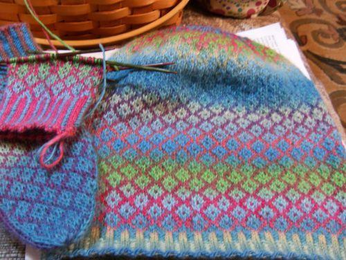 109 best punto de media images on Pinterest   Knit patterns, Knit ...