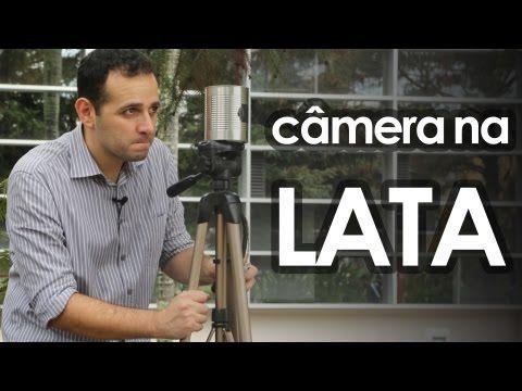 Câmera fotográfica pinhole de lata (experiência de física) - How to make pinhole camera - YouTube