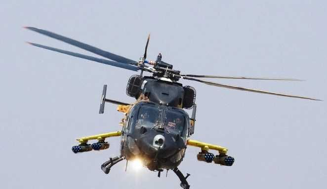 HAL RUDRA,Armed Version of HAL DHRUV,Attack Helicopter,Indian Armed Force The HAL Rudra is an armed version of HAL Dhruv.It is an attack helicopter manufact