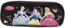 Princess Aurora Snow White Plastic Pencil Case Pencil Box - Black
