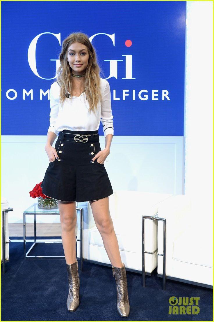 Gigi Hadid & Tommy Hilfiger Promote 'TommyxGigi' Fashion Collection Together