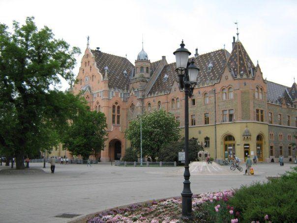 Kecskemet Town Hall - Kecskemet, Hungary
