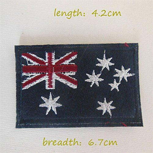 FairyTeller 1Pcs Sell High Quality Different National Flag Patch Hot Melt Adhesive Applique Embroidery Patch Diy Decoration Accessory ** Check out the image by visiting the link.
