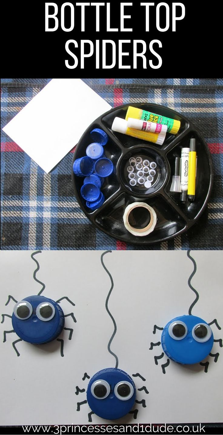 easy spider craft easy set up 10 minute activity                              …