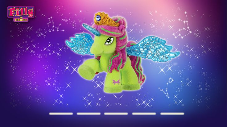 Filly Stars - Green is my favourite colour, my best friend gave me this Filly Star, does anyone know her name?