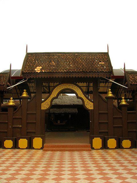 Traditional Malaysian Building, Kota Bharu, Malaysia