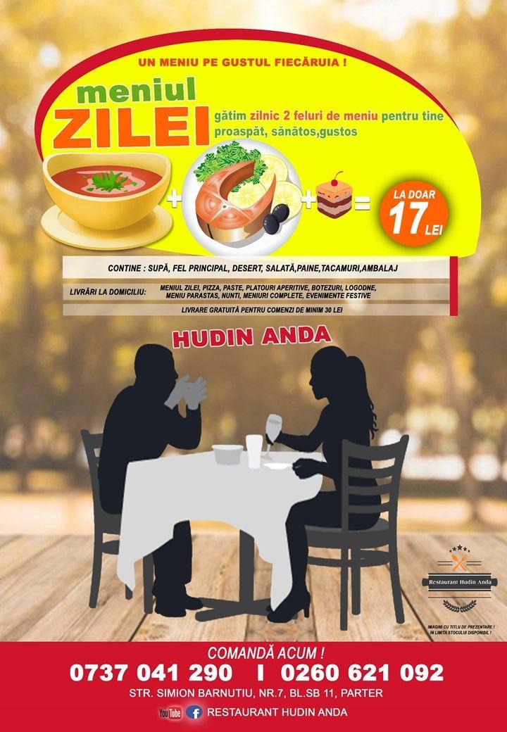 Livrări La Domiciliu Meniul Zilei Pizza Paste Platouri Aperitive