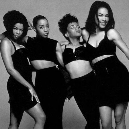 if we were in girl band it would be en vogue.... the original divas!