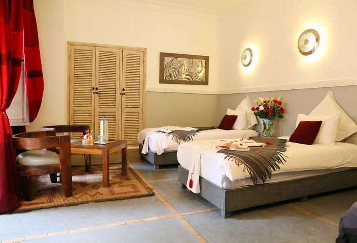 Suites triple de luxe - Riad Anyssates