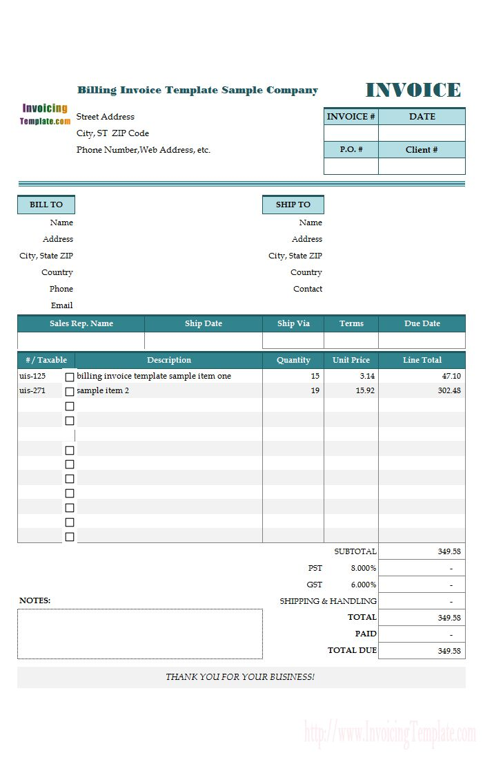 Best 25+ Invoice format in excel ideas on Pinterest Invoice - billing statement