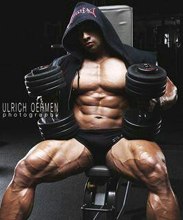 Peruvian bodybuilder Cesar Quispe Estela | Bodybuilding