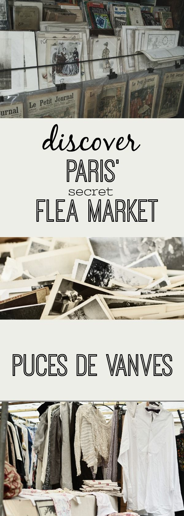 "Visit Paris' Flea Market at Porte de Vanves - the Puces de Vanves is a hidden gem and quite unknown compared to the world famous Puces de St.Ouen in Pari's north. Discover an off beat activity when you're in Paris - explore the south of Paris, including the 15th and 14th arrondissement - a non touristic residential area, that shows you a laid back and authentic side of Paris - a good activity if you are traveling to Paris and wondering ""what to do in Paris"""