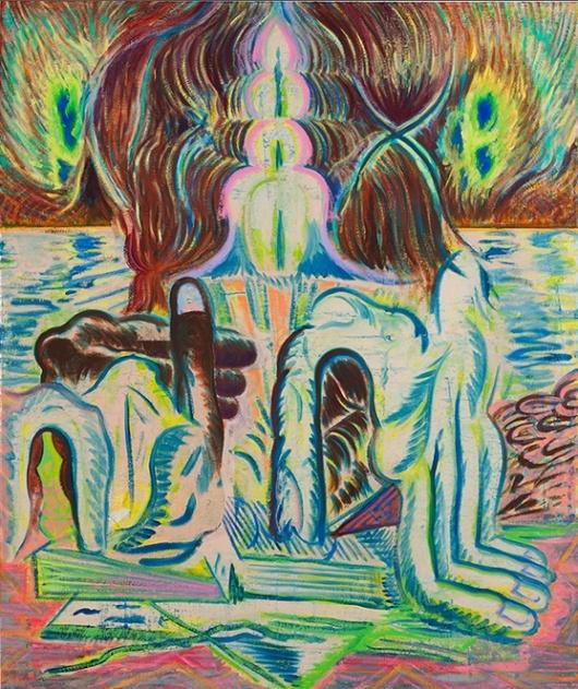 Michael Berryhill   'Schmevelations' 2012Artists Models, Art C1950, Indecent Hastings, Painting Artists, Aesthetic Admire, Abstract Painting, Abstract Art, Michael Berryhill, Art C 1950