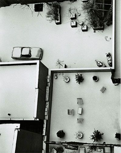 Andre Kertesz MacDougal Alley 1965