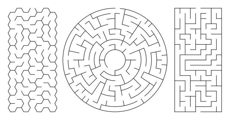 Create Download And Print Random Mazes In Varying Styles