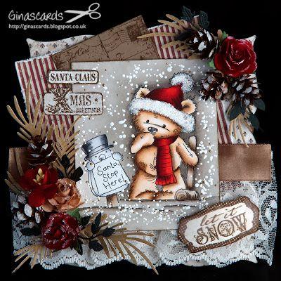 LOTV - James - Santa Stop Here - Ginas Cards