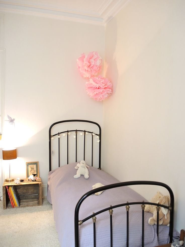 #chambre #girly #vintage #ambiance #déco