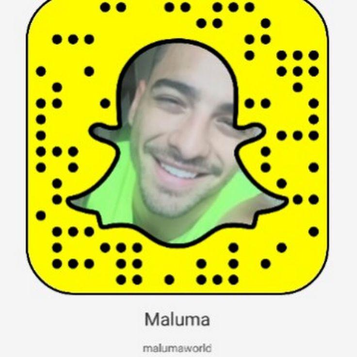 Maluma Snapchat