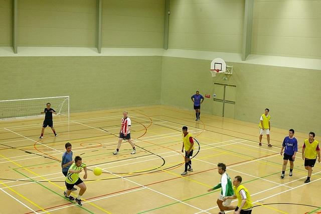 Indoor football at UoN