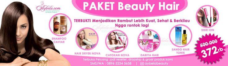 Paket Beauty Hair (Solusi Rambut Indah Para Artis) - Aybela.com Toko Online Kecantikan dan Kesehatan