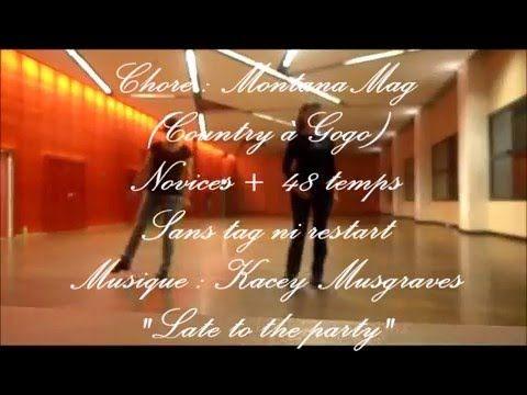 """Never Late"". Choré : Montana Mag Stepsheet and teach video : http://countryagogo.free.fr/ Music : Kacey Musgraves"