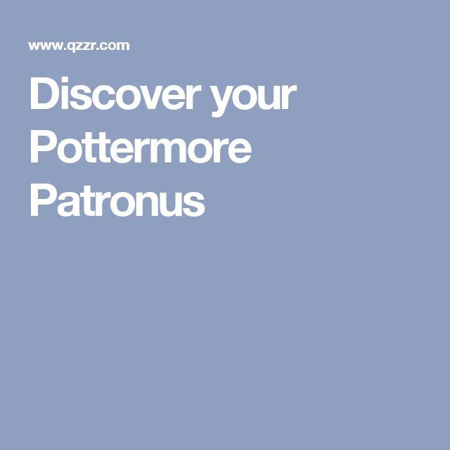 Discover your Pottermore Patronus