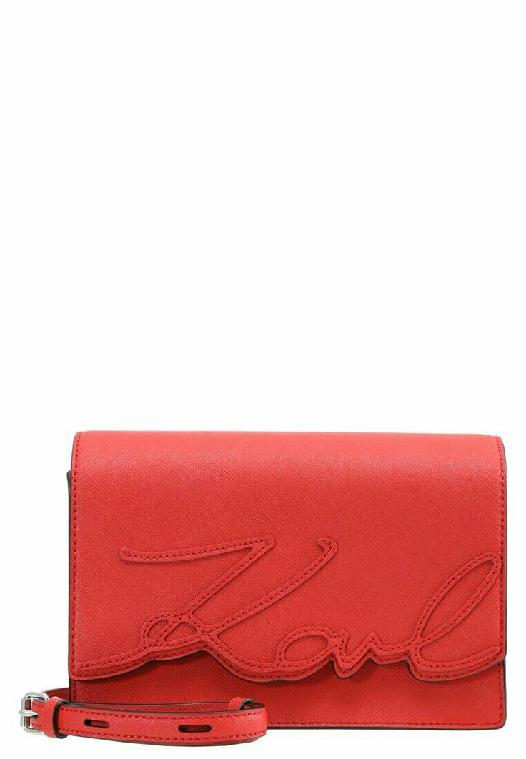 Karl Lagerfeld Borsa a tracolla  scarlet