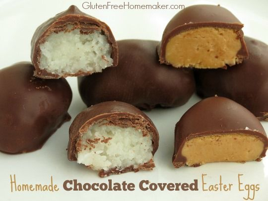 Chocolate Covered Easter Egg Candy - The Gluten-Free Homemaker