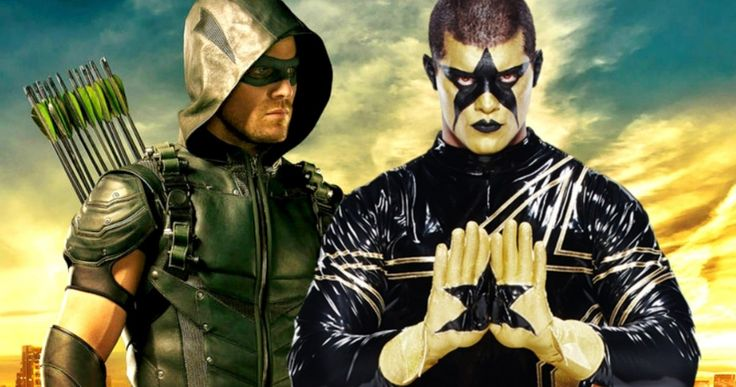 'Arrow' Star Stephen Amell Is Coming to WWE Raw This Monday -- 'Arrow' star Stephen Amell will confront his social media nemesis Stardust on WWE's Monday Night Raw Monday, August 10 in Seattle. -- http://movieweb.com/arrow-stephen-amell-wwe-raw/