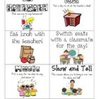 Here is a set of classroom reward coupons that I will be using this year with my first grade students, instead of filling up a costly treasure box!...