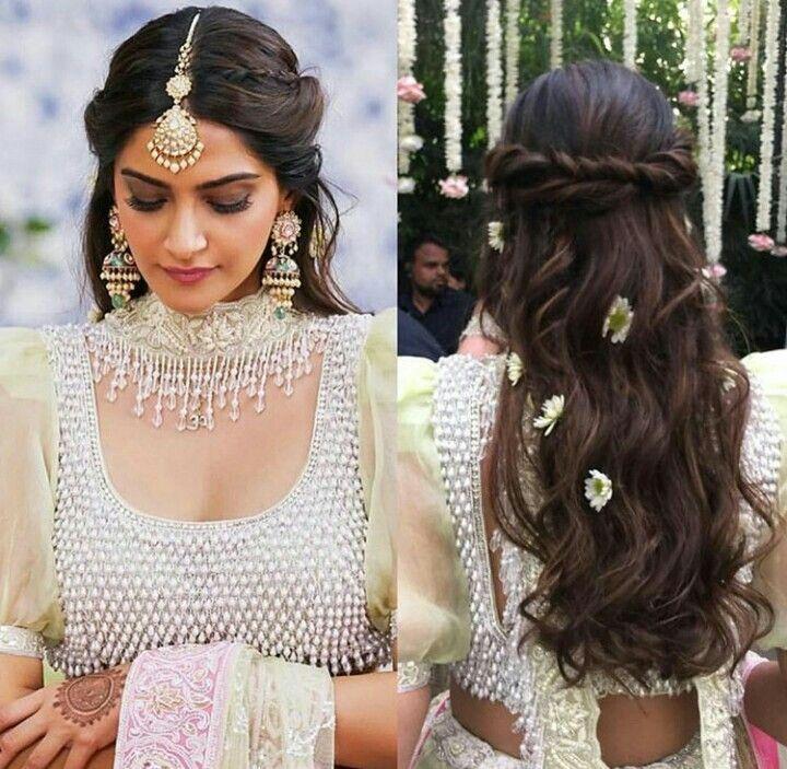 Hairstyle Hairstyles Hairs Verlobungs Frisuren Indische Hochzeitsfrisuren Hochzeitsfrisuren Geflochten