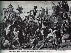 MOVIMIENTO de INDEPENDENCIA Indio. Los comerciantes europeos se establecieron en India desde la llegada del navegante portugués Vasco de Gama en 1498. Los británicos lo hicieron en 1619 y en 1757, cuando el ejército británico comandado por Robert Clive derrotó al nabab de Bengala, se estableció  en esta región la Compañía Británica de las Indias Orientales, la cual regentó la colonia británica en el subcontinente indio durante  cien años. Tras la mencionada batalla los británicos adquirieron…